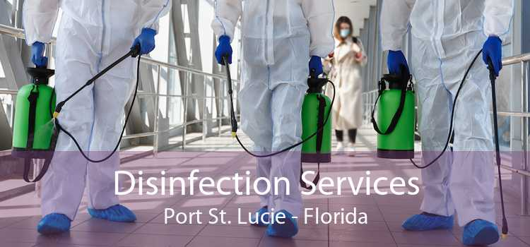 Disinfection Services Port St. Lucie - Florida