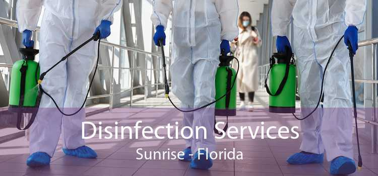 Disinfection Services Sunrise - Florida
