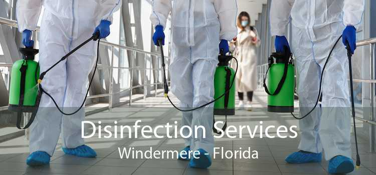 Disinfection Services Windermere - Florida