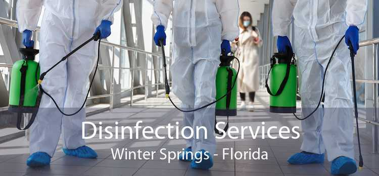 Disinfection Services Winter Springs - Florida