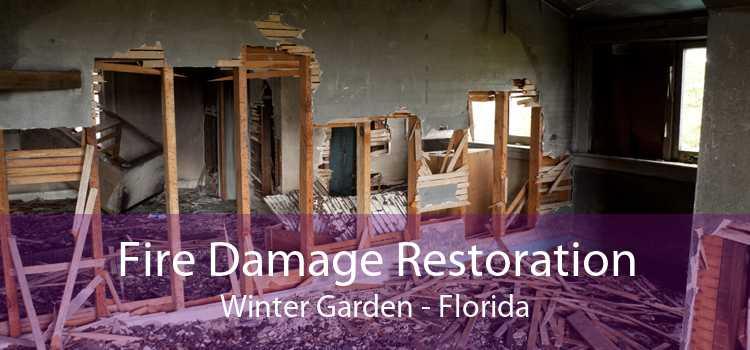 Fire Damage Restoration Winter Garden - Florida