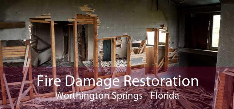 Fire Damage Restoration Worthington Springs - Florida