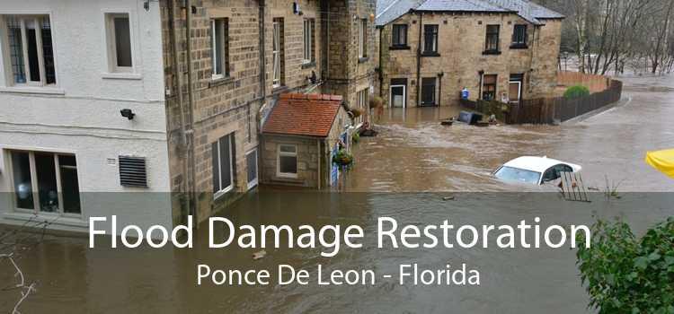 Flood Damage Restoration Ponce De Leon - Florida