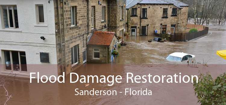 Flood Damage Restoration Sanderson - Florida