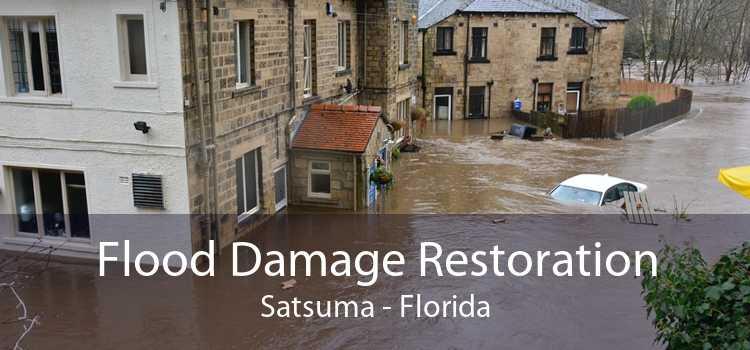 Flood Damage Restoration Satsuma - Florida
