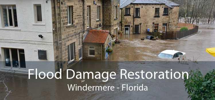 Flood Damage Restoration Windermere - Florida