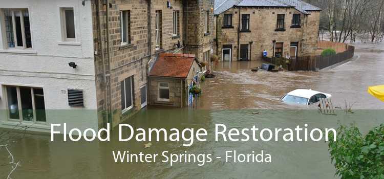 Flood Damage Restoration Winter Springs - Florida