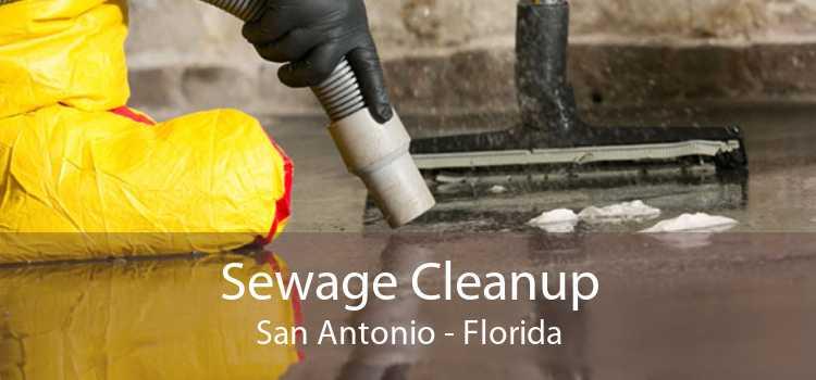 Sewage Cleanup San Antonio - Florida