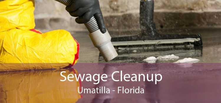 Sewage Cleanup Umatilla - Florida