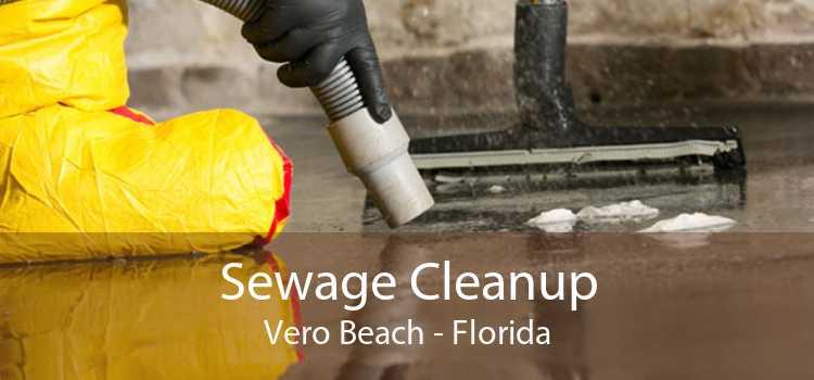 Sewage Cleanup Vero Beach - Florida