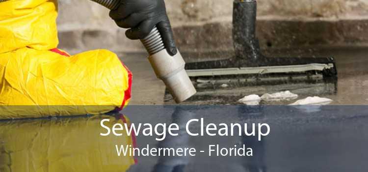 Sewage Cleanup Windermere - Florida