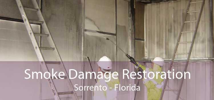 Smoke Damage Restoration Sorrento - Florida