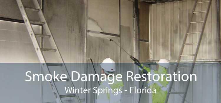 Smoke Damage Restoration Winter Springs - Florida