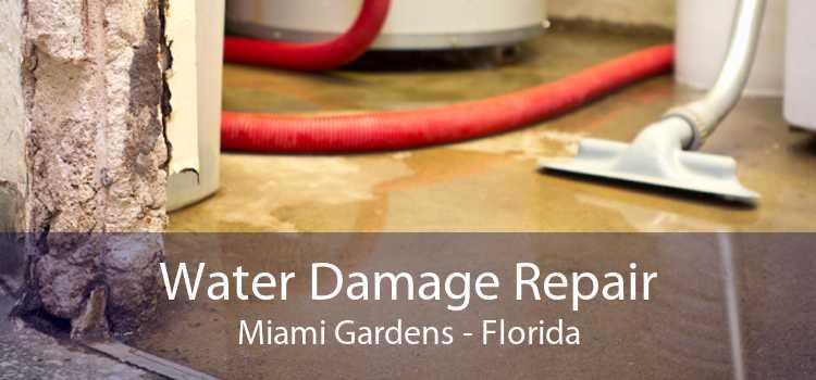 Water Damage Repair Miami Gardens - Florida