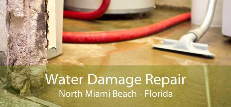 Water Damage Repair North Miami Beach - Florida
