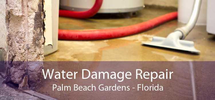 Water Damage Repair Palm Beach Gardens - Florida
