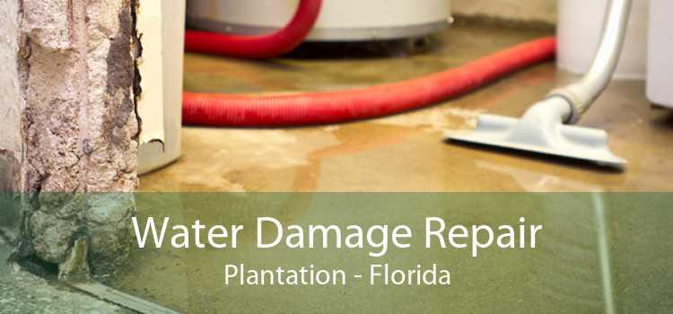 Water Damage Repair Plantation - Florida