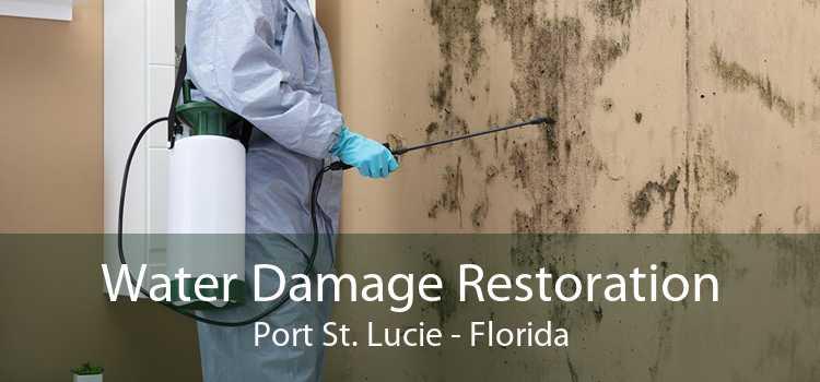 Water Damage Restoration Port St. Lucie - Florida