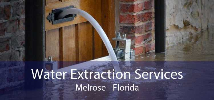 Water Extraction Services Melrose - Florida