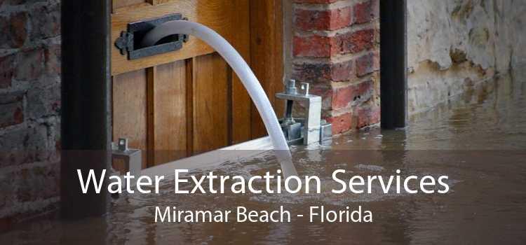 Water Extraction Services Miramar Beach - Florida