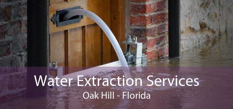 Water Extraction Services Oak Hill - Florida