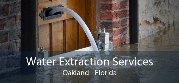 Water Extraction Services Oakland - Florida
