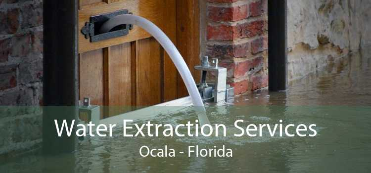 Water Extraction Services Ocala - Florida