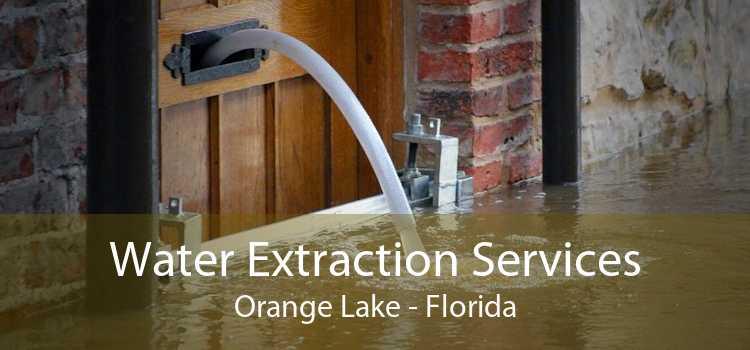 Water Extraction Services Orange Lake - Florida
