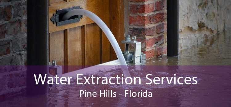 Water Extraction Services Pine Hills - Florida