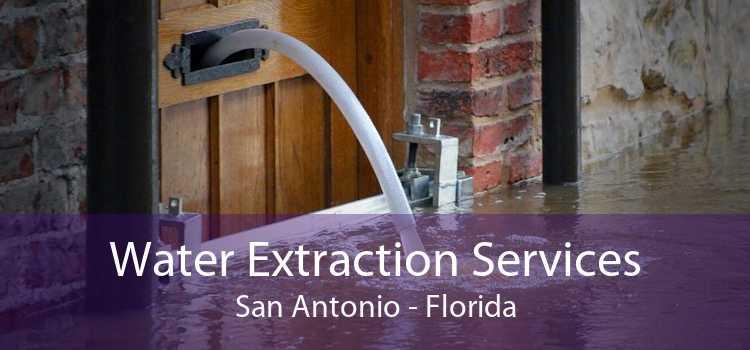 Water Extraction Services San Antonio - Florida