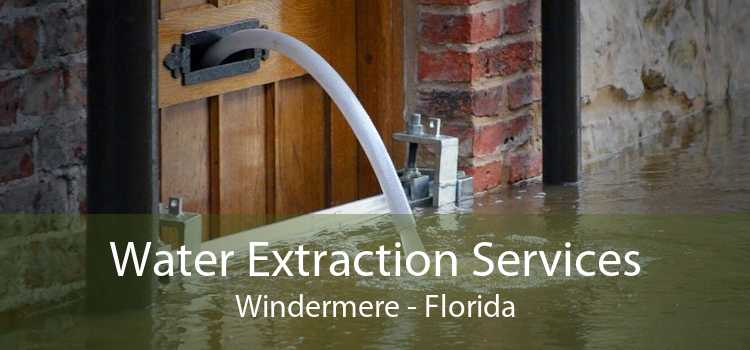 Water Extraction Services Windermere - Florida