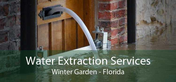 Water Extraction Services Winter Garden - Florida