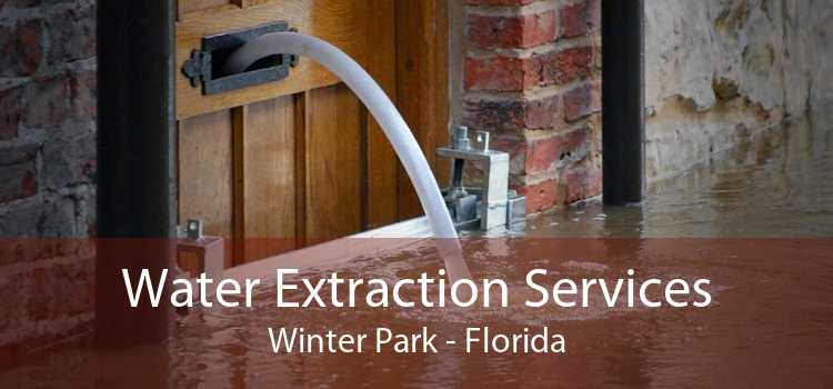 Water Extraction Services Winter Park - Florida