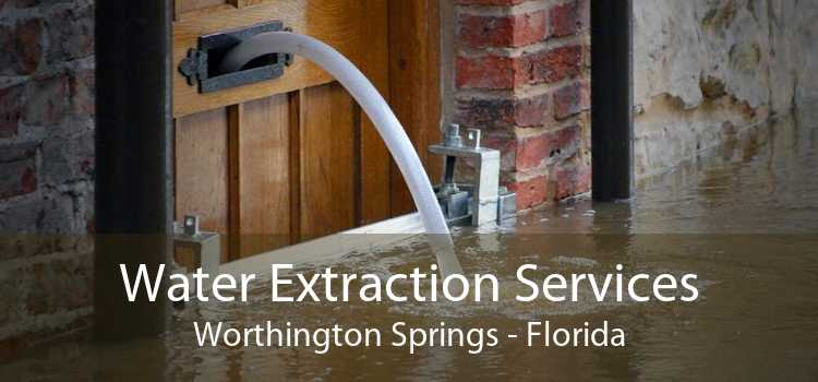 Water Extraction Services Worthington Springs - Florida
